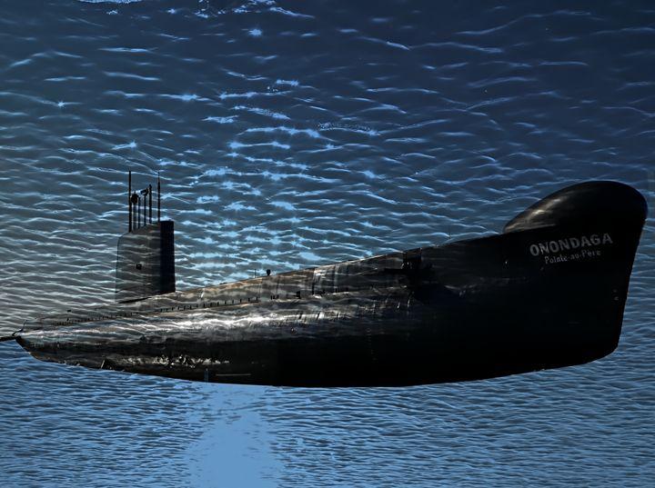 The submarine - imaginart