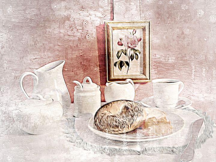 Coffee & bagel - imaginart