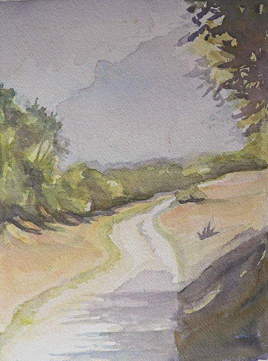 Country Road Path - imaginart