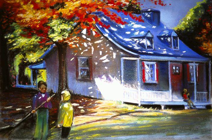 Autumn day - imaginart