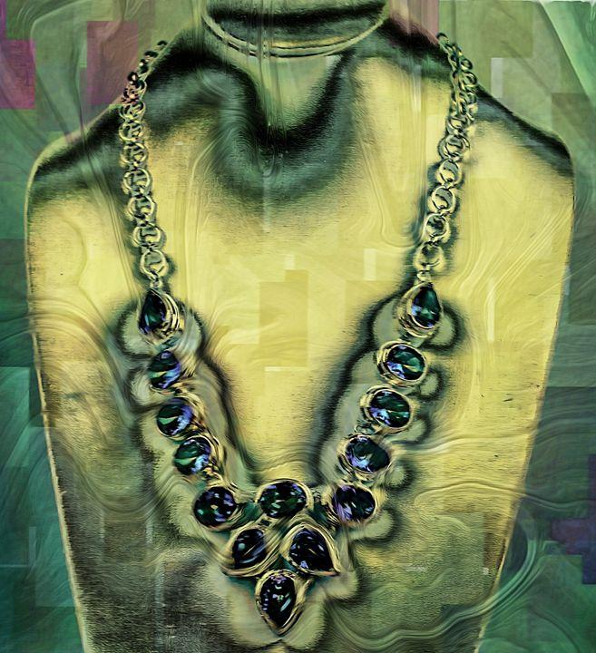 Mystic topaz necklace - imaginart
