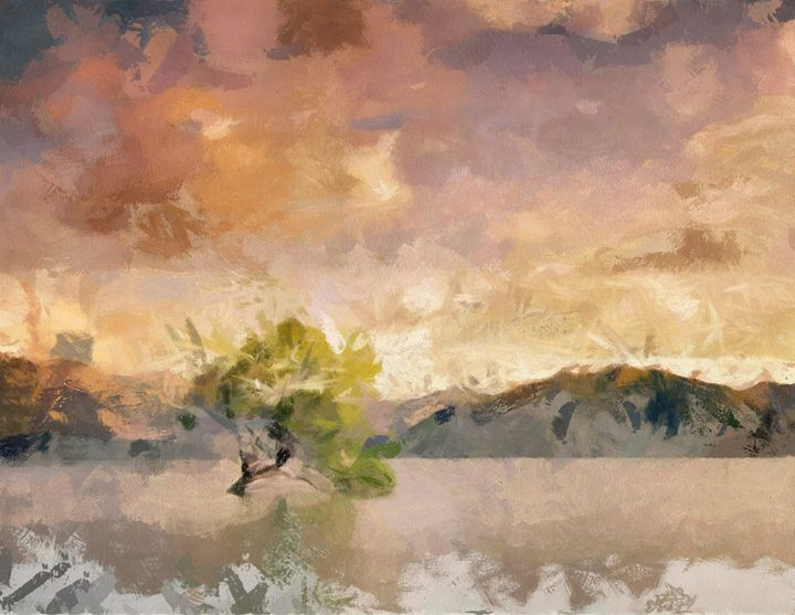 Wanaka Tree - imaginart