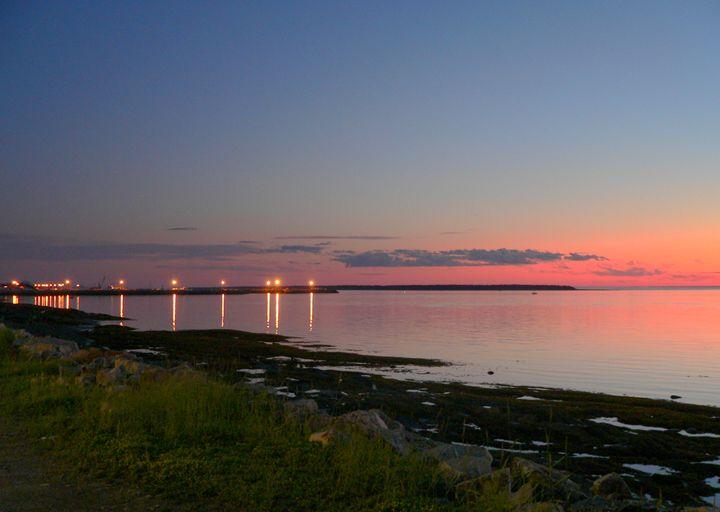 Harbor lights - imaginart