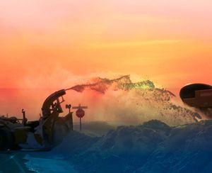 Snowblower and the submarine - imaginart