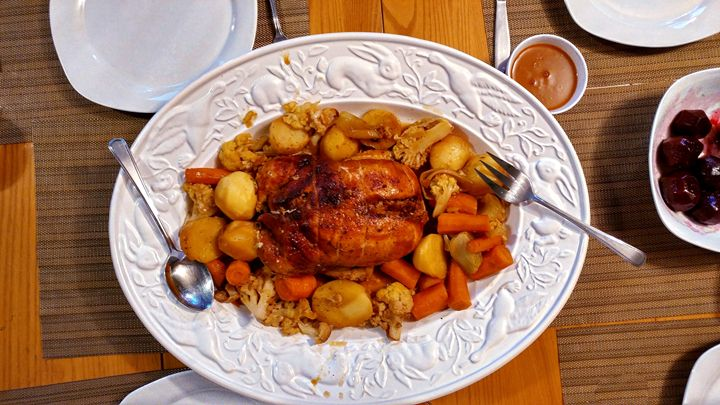 Chicken meal - imaginart