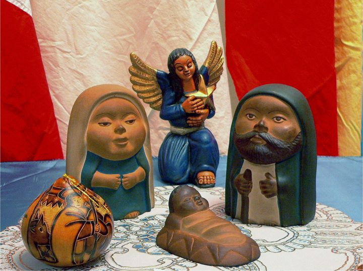 Nativity characters - imaginart
