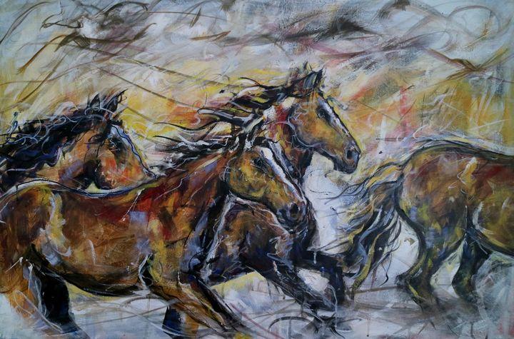 Wild horses - imaginart