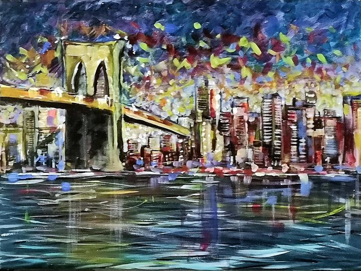 Brooklyn bridge no2 - imaginart
