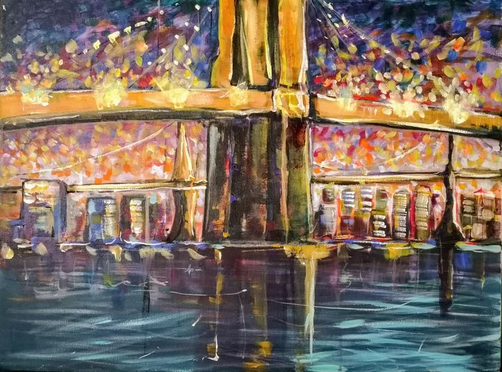 Brooklyn bridge New-York no.1 - imaginart