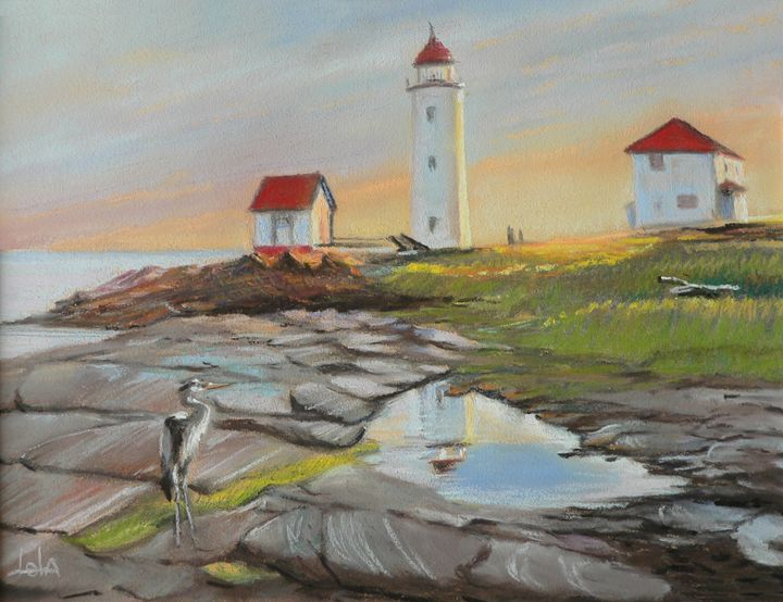 Lighthouse on the St-Lawrence - imaginart