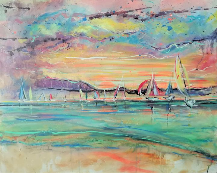 Sailing day - imaginart