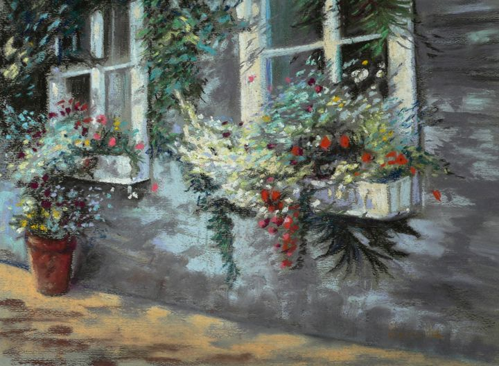 A flowery window - imaginart