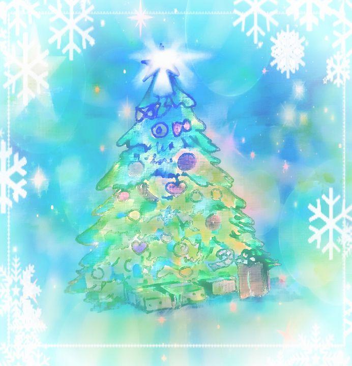 Christmas tree illustration - imaginart
