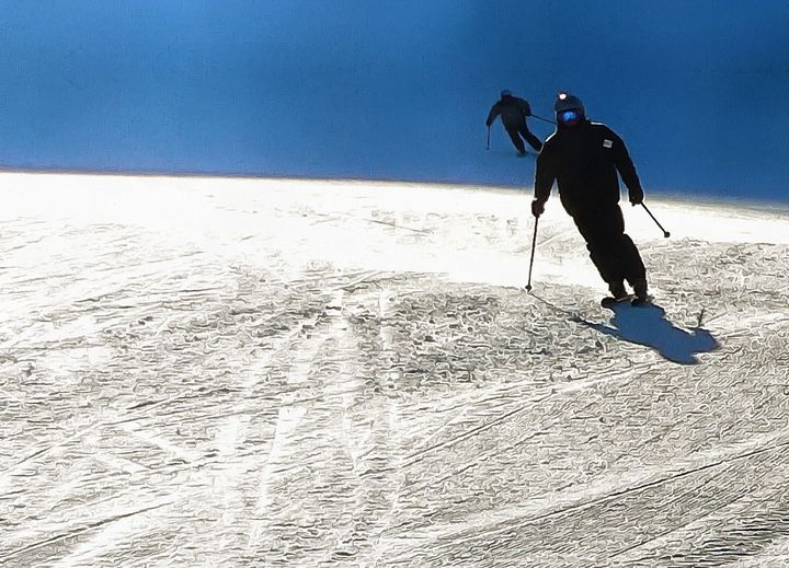 Cosmos Skiers - imaginart
