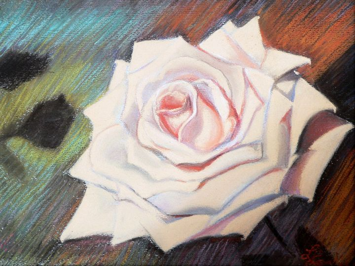 My rose pastel - imaginart