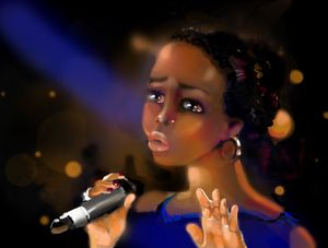 Soul Blues singer