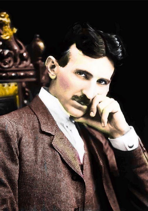 Nikola Tesla - imaginart