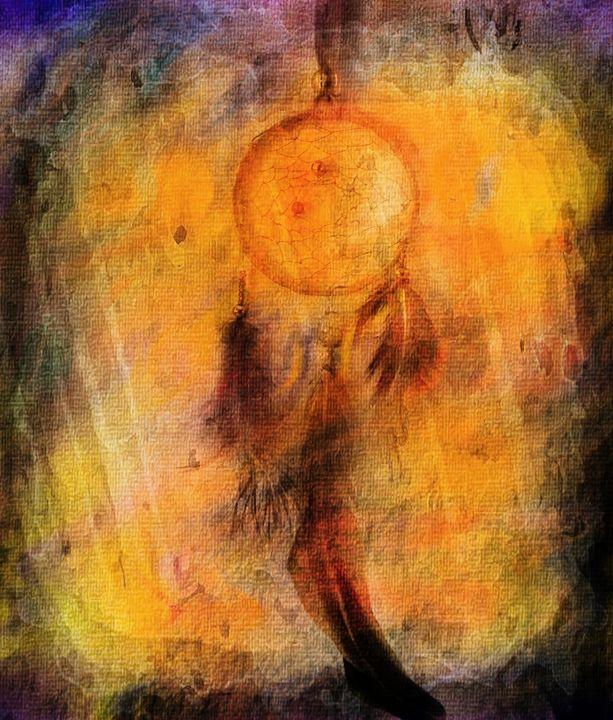 Dreamcatcher canvas background - imaginart