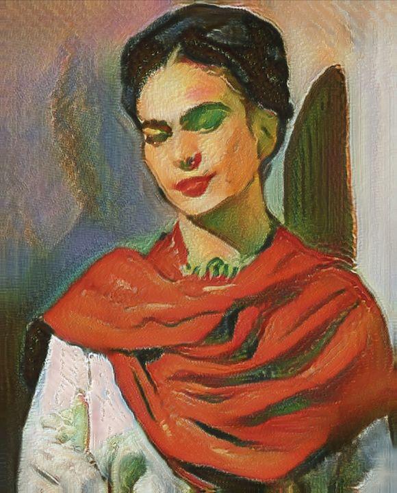 Portrait de Frida - imaginart