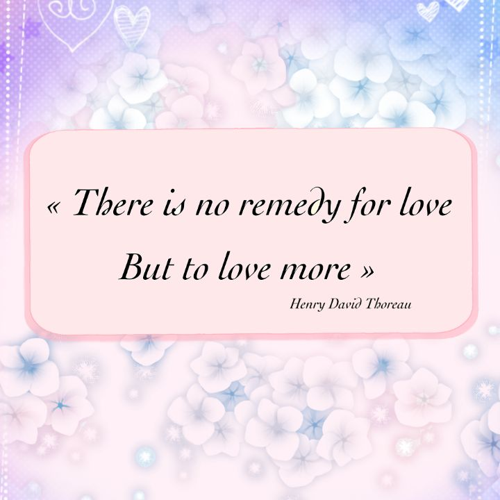 There is no remedy for love - imaginart