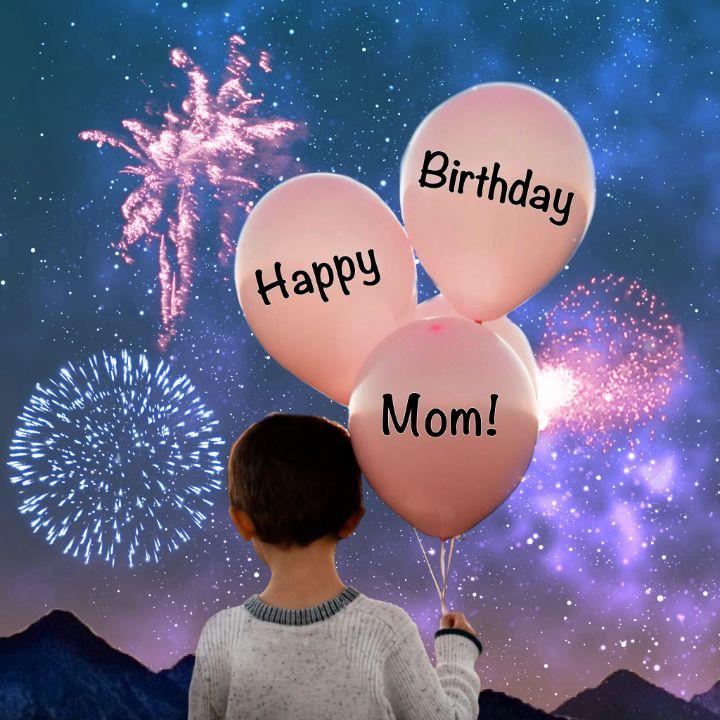 Happy Birthday Mom - imaginart