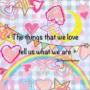 The things that we love