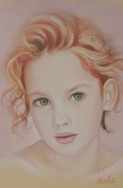 Portrait of a young girl - imaginart
