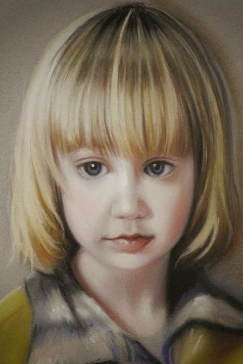 Custom child portrait - imaginart