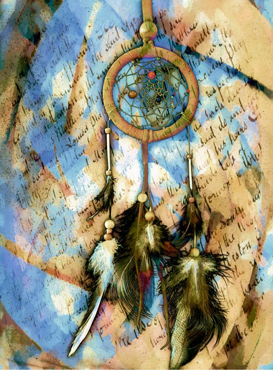 Dreamcatcher native american legend - imaginart