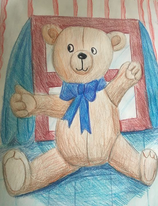 Cuddles the Teddy Bear - Alejandro Castelanko