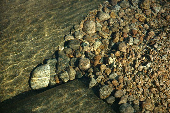 Swift River Rocks - Unseen Gallery Prints