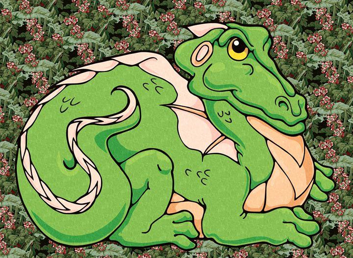 Smug Dragon - Unseen Gallery Prints