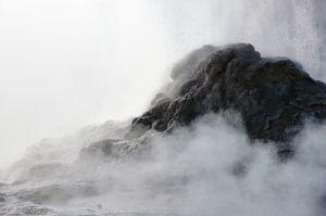 Castle Geyser Erupting