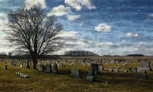 Prairie Graveyard