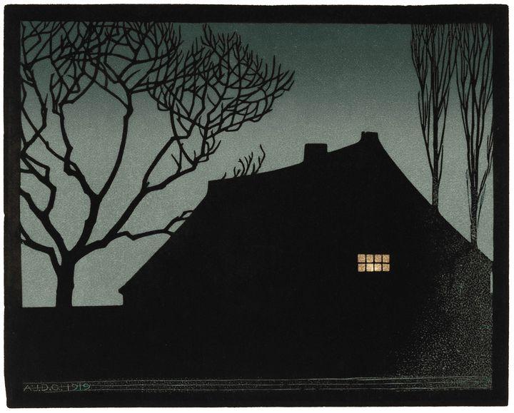 Winter Evening - Unseen Gallery Prints