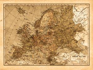 Vintage Europe in Sepia tones
