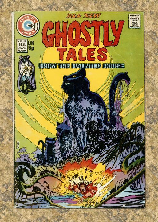 Ghastly Tales #110 - Unseen Gallery Prints