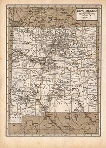 Antique New Mexico in Sepia