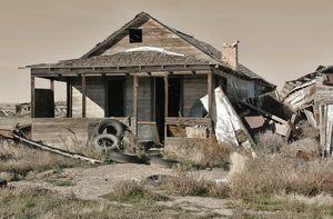 Ghost Town in Utah