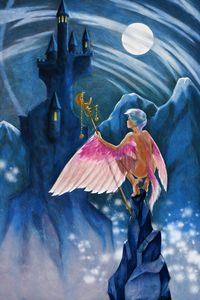 Aerie at the Fortress of Secrets - Unseen Gallery Prints