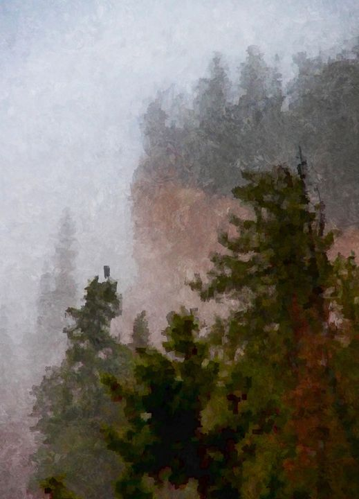 Bad Weather at Bryce Canyon - Unseen Gallery Prints