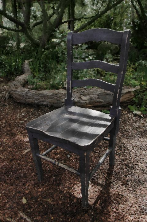 A Seat in Nature - Unseen Gallery Prints