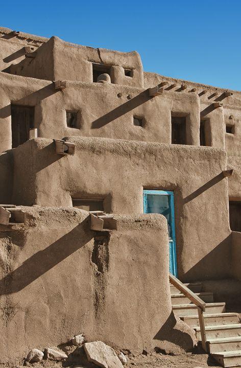 Taos Pueblo - Unseen Gallery Prints