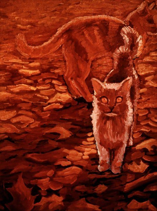 Golden Cats - Unseen Gallery Prints