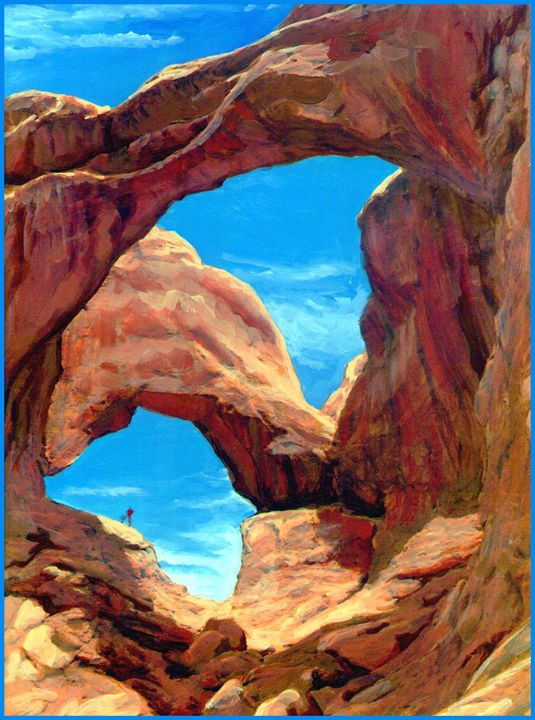 Sandstone Arches - Unseen Gallery Prints