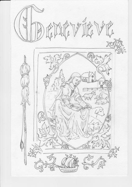 genevieve - angelchase