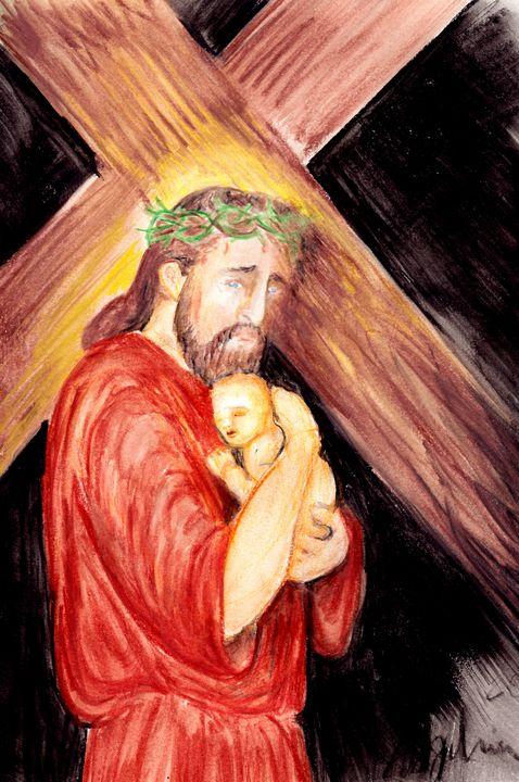 Luke 23:34 - angelchase