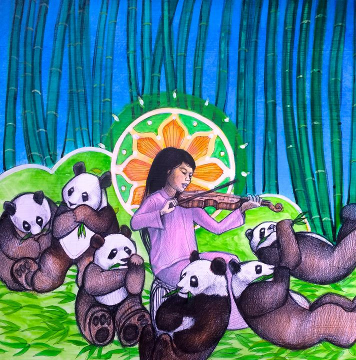 Quan Yin and the Six Panda Saints - Steve Brumme