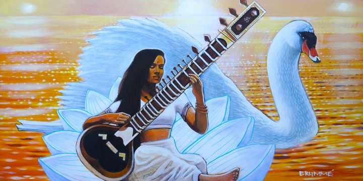 Saraswati and the Swan - Steve Brumme