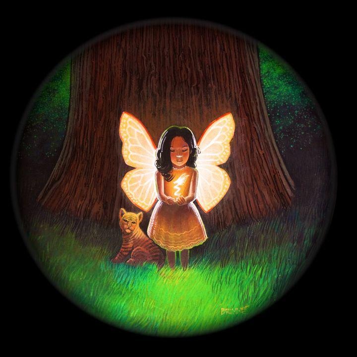 The Butterfly Child in Black - Steve Brumme
